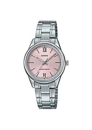 Amazon.com: Casio LTP-V005D-4B2 - Reloj analógico para mujer ...