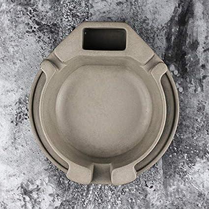Nicole Cemento Cenicero Molde de Silicona 5 Pulgadas Hecha a Mano Cenicero Flor Molde: Amazon.es: Juguetes y juegos