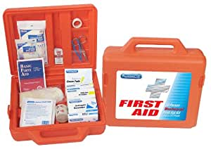 PhysiciansCare by First Aid Only Weatherproof First Aid Kit for up to 50 People, Contains 179 Pieces