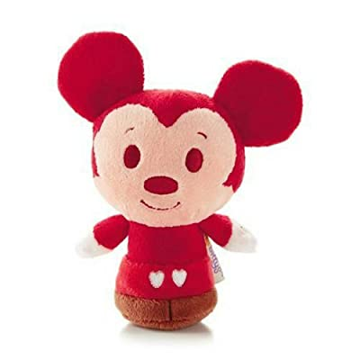 Hallmark Valentine's Day 2014 VTD1429 Disney Happy Hearts Mickey Itty Bitty Plush: Toys & Games