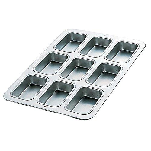 Wilton Aluminum 9-Cavity Petite Loaf (Baking Petit Fours)