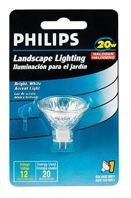 Philips 156760 Landscape Lighting 20-Watt 12-Volt MR11