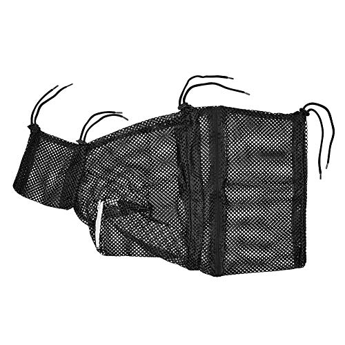 (Kuntrona Mesh Cat Grooming Bathing Bag Adjustable Cat Kitten Washing Bath Bags Nail Triming Anti Scratch Bite Restraint Black M)