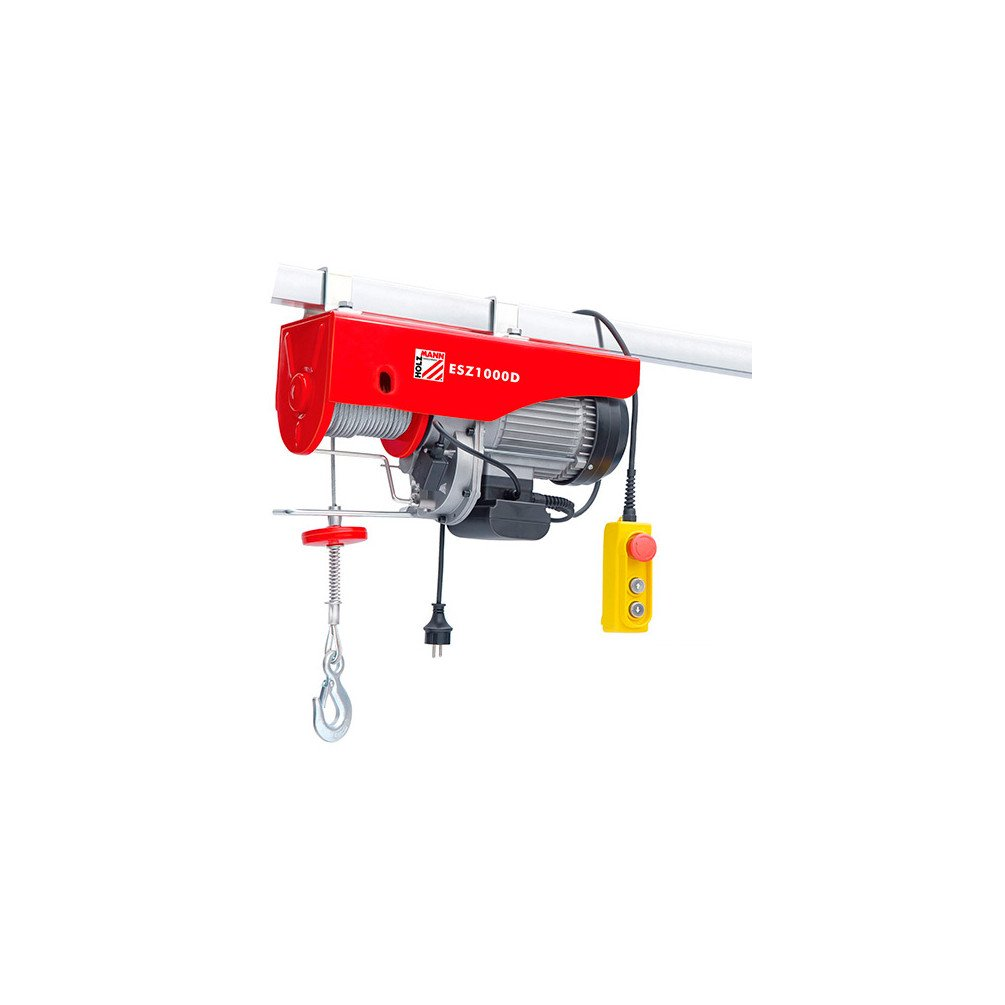 /1600/W 230/V Maximum Load 1000/kg Electric Hoist/ /esz1000d HOLZMANN Holzmann/