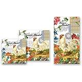 Michel Design Works 20-Pack 3-Ply Paper Cocktail Napkins, Farmers Market