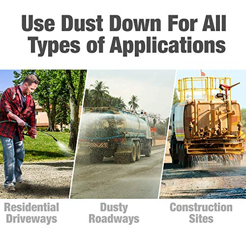 Green Gobbler Dust Down Poly PRO Polymer Road Dust Control | Dust Reducer for Driveway's, Roads & Construction Sites (5 Gallon Pail) by Green Gobbler (Image #2)