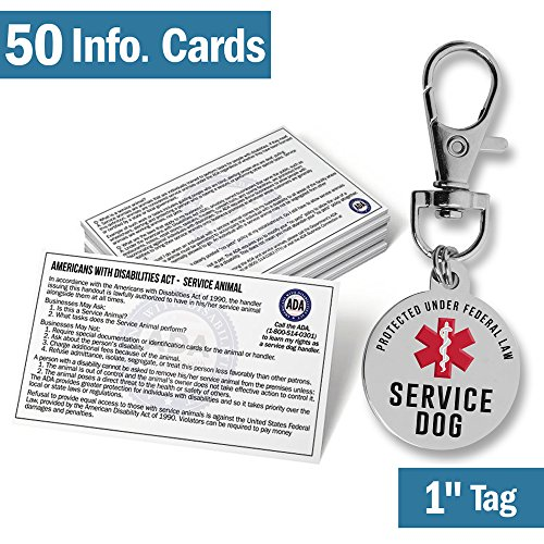 Working Service Dog Patch - Official Service Dog ID Tag - 1