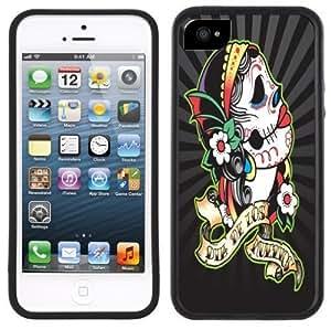 Day of the Dead Dia de los Muertos Handmade iPhone 5 5S Black Case hjbrhga1544