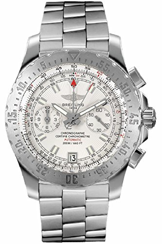 Breitling Slide Rule (Breitling Professional Skyracer 43.5mm Silver Dial Mens Watch A2736234/G615-140A)