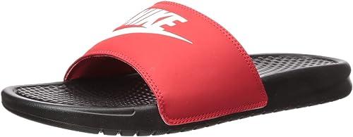 precio especial para adecuado para hombres/mujeres oferta especial Amazon.com   Nike Men's Benassi Just Do It Slide Sandal   Sport ...