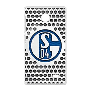 FC Schalke 04 Design Bestselling Hot Seller High Quality Case Cove For Nokia Lumia X