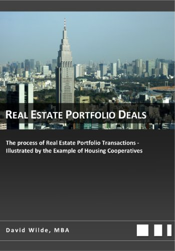 Real Estate Portfolio Deals: With a special Focus on Housing Cooperatives and Residential Real Estate