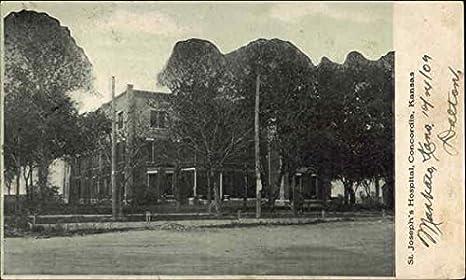 1910 Print Postcard;St Josephs Hospital, Concordia KS