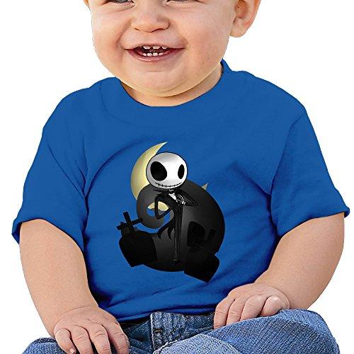 DOfunn Unisex-Baby/Toddler/Infant Jack Skellington Halloween T-Shirts]()