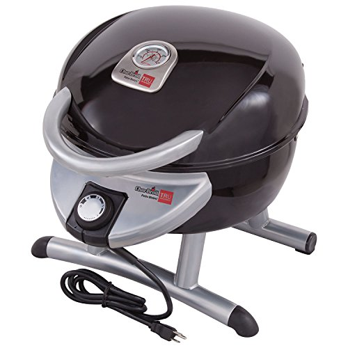 Char-Broil TRU-Infrared Electric Table Top Bistro Grill 180 in Black/Silver (Char Broil Patio Bistro 180)