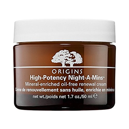Origins High-Potency Night-A-Mins Mineral-Enriched Oil-Free Renewal Cream, 1.7 oz