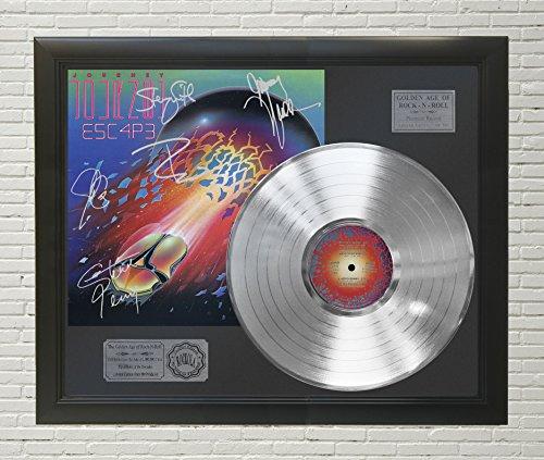 - Journey - Escape Framed Platinum LP Signature Display