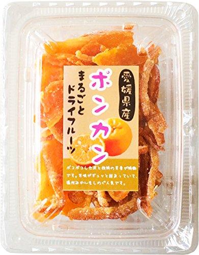Genki Honpo (domestic) Ehime dry fruit Ponkan Bow skin 100g [Parallel  import]