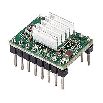 Farwind A4988-2 módulos de controlador de motor paso a paso con ...