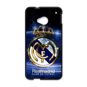 HDSAO Realmadrid Club Of Futbol Fashion Comstom Plastic case cover For HTC One M7