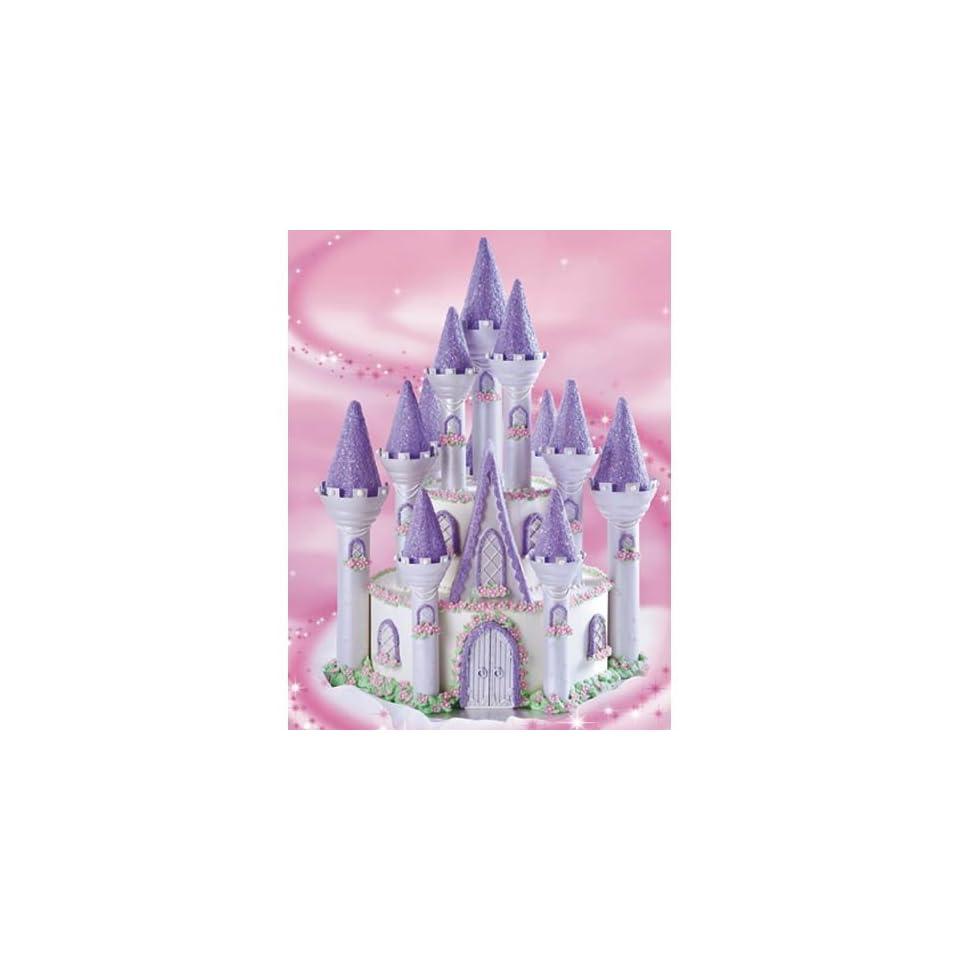 Wilton 301 910 Romantic Princess Castle Birthday Cake Set NEW