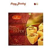 Bhai dooj Sweets - Haldiram Soan Papdi (250 Gms) with Roli Tika