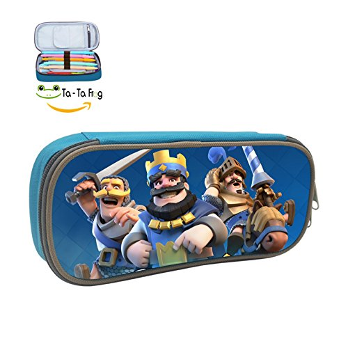 The Clash Royale Case Pen Bag Makeup Pouch Durable Students Cool Various Stationery With Double Zipper