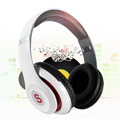 Bluetooth Headphones Over Ear, Hi-Fi Stereo Wireless Foldabl