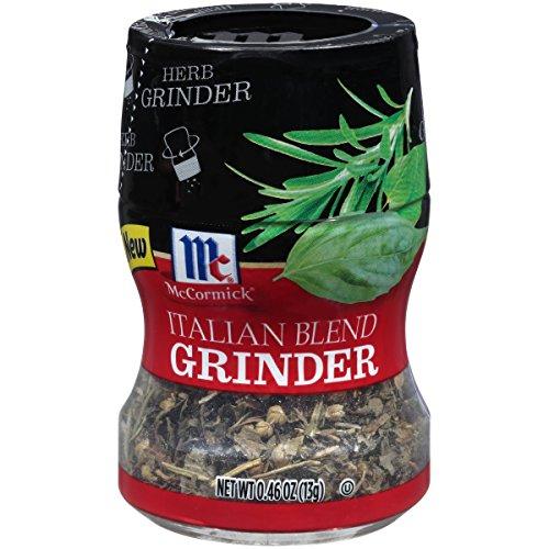(McCormick  Italian Blend Herb Grinder (Basil, Oregano, and Rosemary Blend), 0.46 oz)