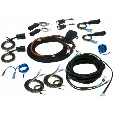 2-/4-Channel Universal Amp Wiring Kit for 1998