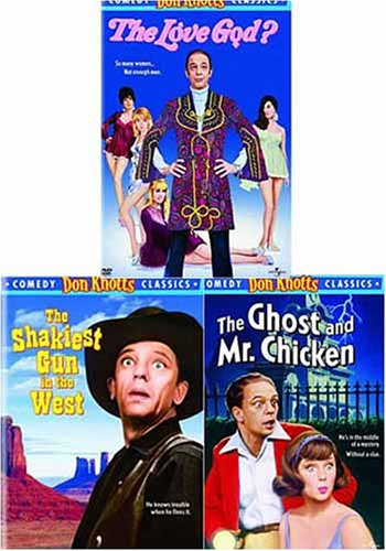 Don Knotts Comedy Classics (3 Pack) The Love God? / The Shakiest Gun in the West / The Ghost and Mr. Chicken
