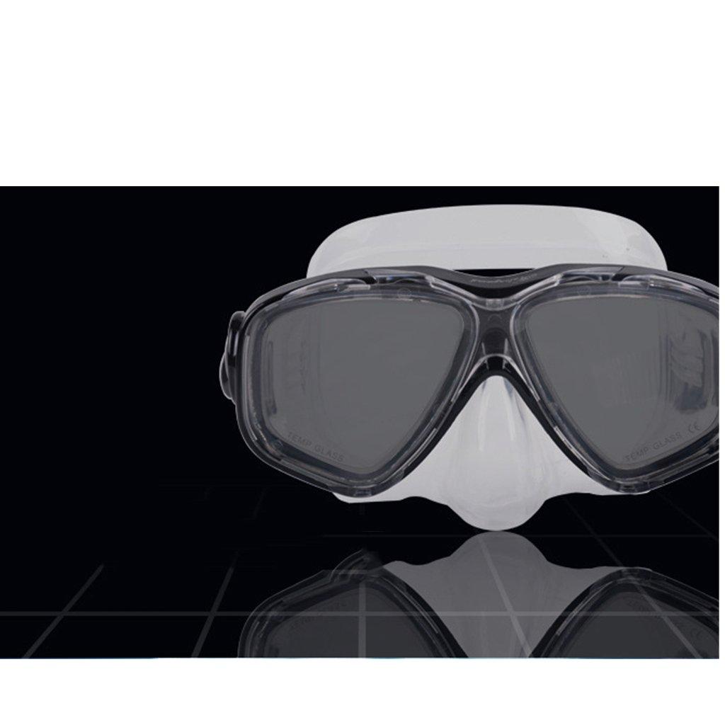 Sharplace Erwachsene Tauchmaske mit Hartglas Anti-Nebel Linsen f/ür Schnorcheln Oder Schwimmen