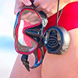 Kraken Aquatics Freediving Snorkel | Flexible Roll