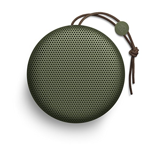 Price comparison product image B&O PLAY by Bang & Olufsen Beoplay A1 Portable Bluetooth Speaker with Microphone (Moss)