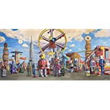 Fairgrounds by Eric Joyner Double Sided Laminate, 36 x 17 inches
