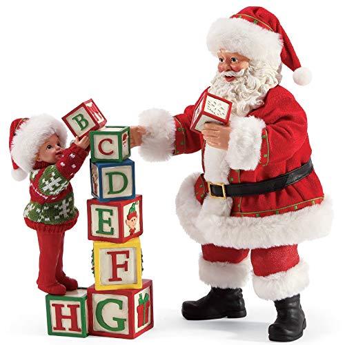 Department 56 Possible Dreams Santa Sports and Leisure Building Blocks Figurine Set, 10 Inch, Multicolor (Dreams Possible Santas 56 Department)
