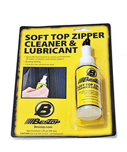 bestop-11216-00-zipper-cleaner-and-lubricant-2-oz-single-bottle-boxed