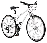 Schwinn Men's Network 3.0 700C Wheel Men's Hybrid Bicycle White, 18' Frame...