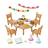 Sylvanian Families home party set over -612 (japan import)