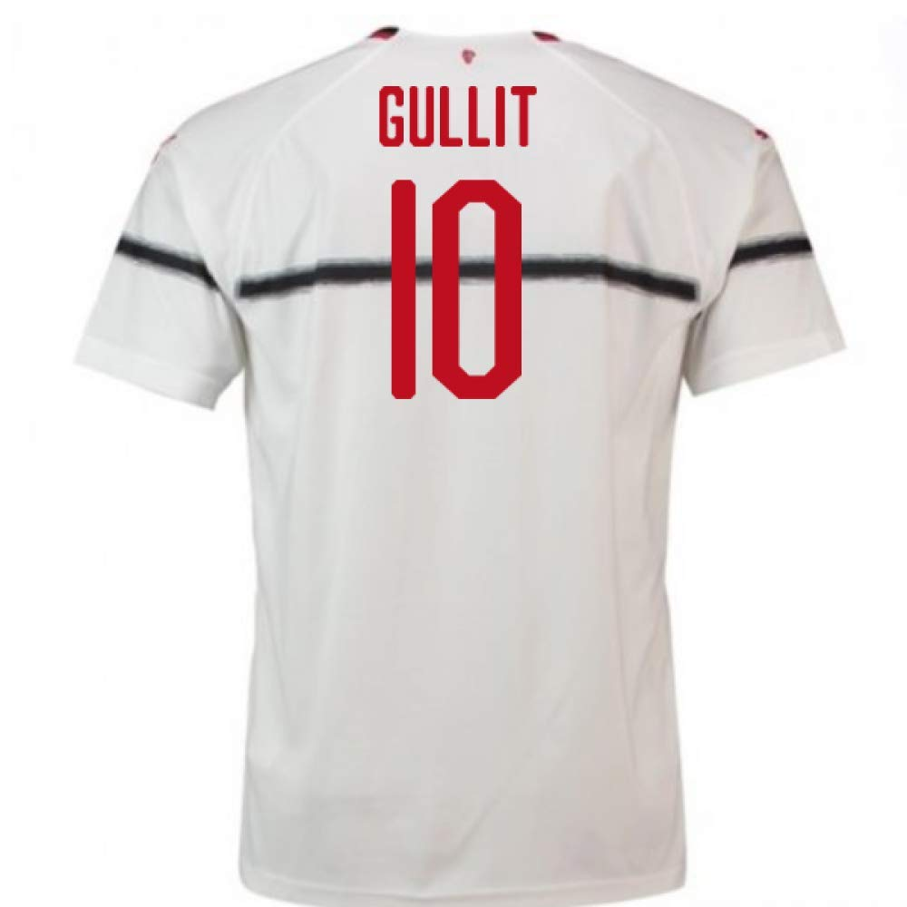 2018-2019 AC Milan Puma Away Football Soccer T-Shirt Trikot (Ruud Gullit 10) - Kids