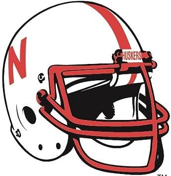 amazon com 6 inch huskers football helmet university of nebraska nu rh amazon com Cornhusker Logo Clip Art Herbie Husker Clip Art