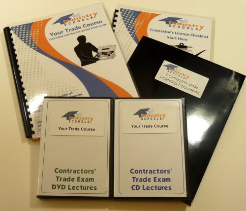 KIT C55 - WATER CONDITIONING for California w/Online Practice Exams, Instructors on both DVDs and CDs by Industry Schools