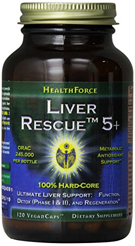 Healthforce Liver Rescue 5.1+, 120 Count (Packaging May Vary)