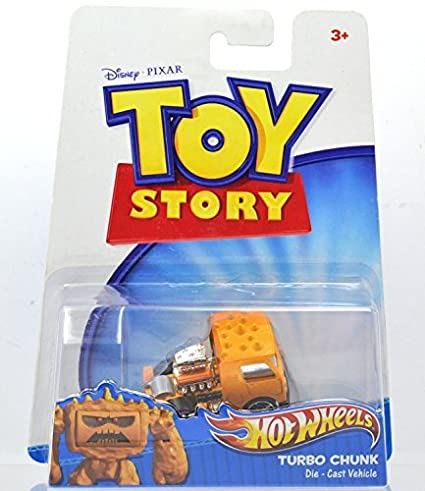 "MATTEL HOTWHEELS Disney / PIXAR TOY STORY 3 TURBO CHUNK Mattel Hot Wheels Toy Story 3"""