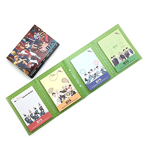 K-pop Boy Group BTS Bangtan Boys Sticky Note Memo Pad Various 4 Design