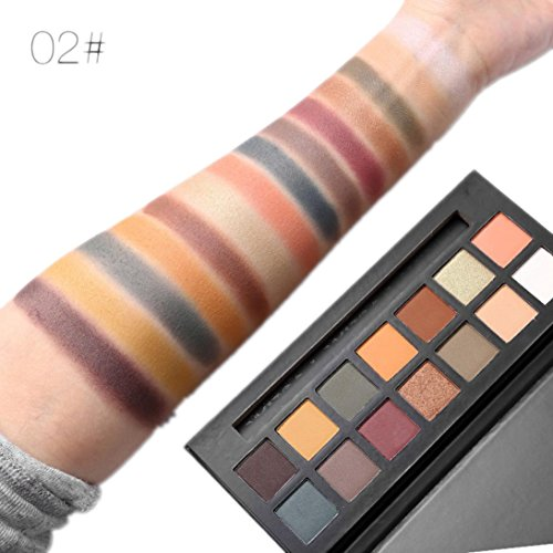 Eyeshadow Palette Makeup Matte Shimmer 14 Colors High Pigmen