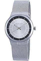 "Johan Eric Men's JE3100-04-001 ""Skive"" Stainless Steel Watch with Mesh Bracelet"