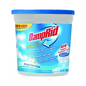 DampRid FG50T Hi-Capacity Moisture Absorber removes excess moisture from the air, eliminates musty odors, and protects from moisture damage. DampRid's natural crystals effectively control musty odors caused by excess moisture for up to 60 days in areas up to square feet, and up to 6 months in a square foot area, depending on temperature and conditions/5.