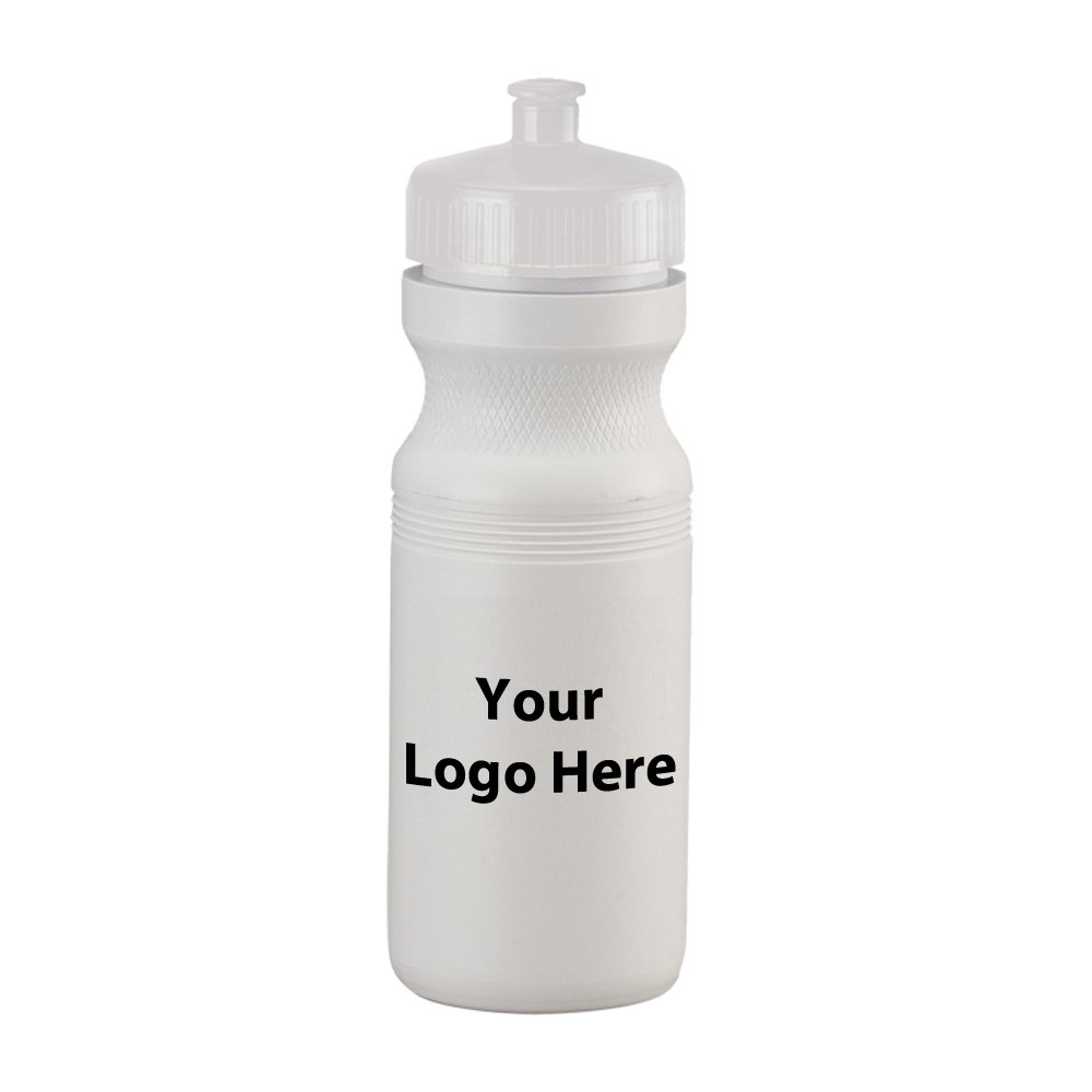24 Oz. Water Bottle - 100 Quantity - $2.15 Each - PROMOTIONAL PRODUCT / BULK / BRANDED with YOUR LOGO / CUSTOMIZED