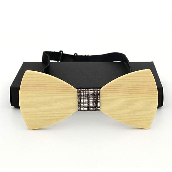 Corbata de lazo de madera para hombre Corbatas de corbata Traje de ...